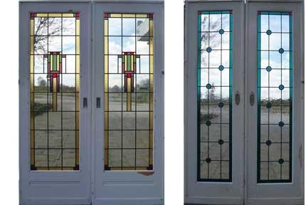 Oude ramen & deuren