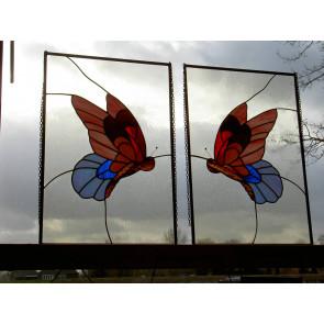 Tiffany vlinder (per stuk)