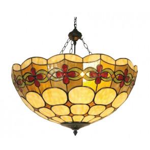 Plafondlamp 'mandje' Bloem