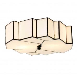 Plafondlamp Tiffany Glamour 33x9cm