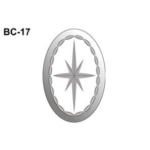 Facet ovaal 102x152mm (BC-17)