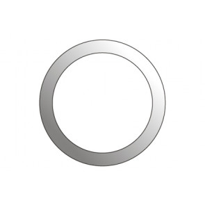 Facet cirkel Ø127
