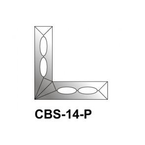 Facet hoeken 25x102mm (CBS-14-P)