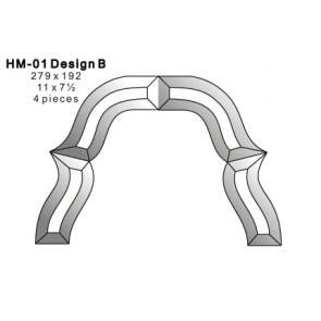 Facet rand 279x192mm (HM-01B)