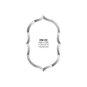 Facet figuur 440x709mm (HM-02)