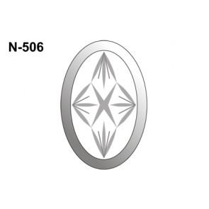 Facet ovaal 101x152mm (N-506)