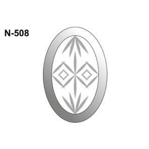 Facet ovaal 101x152mm (N-508)