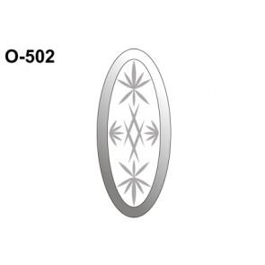 Facet hoeken 203x89mm (O-502)