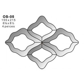 Facet ornament 155x215mm (OS-05)
