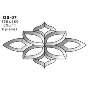 Facet ornament 155x280mm (OS-07)