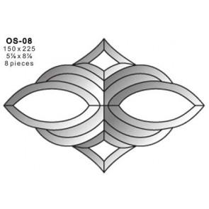 Facet ornament 150x225mm (OS-08)