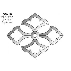 Facet ornament 228x287mm (OS-10)