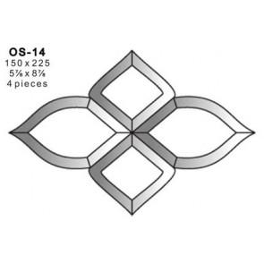 Facet ornament 150x225mm (OS-14)