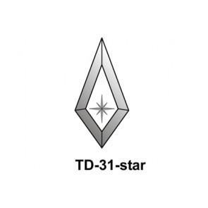 Facet druppel 65x135mm (TD-31star)