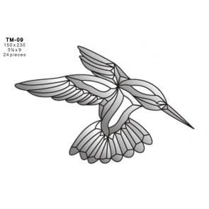 Facet vogel150x230mm (TM-09)