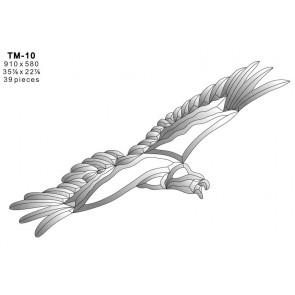 Facet vogel 910x580mm (TM-10)