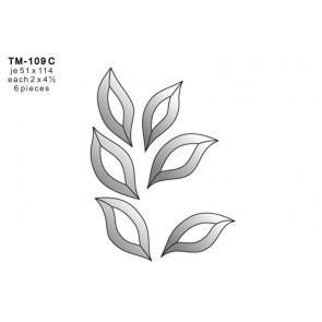 Facet blad 51x114mm (TM-109C)