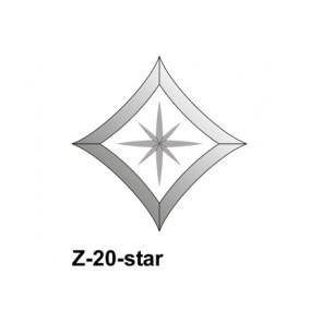Facet wyber 143x143mm (Z-20star)