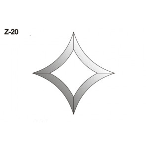 Facet wyber 144x144mm (Z-20)