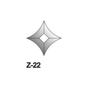 Facet wyber.vierkant toog 72x72mm (Z-22)