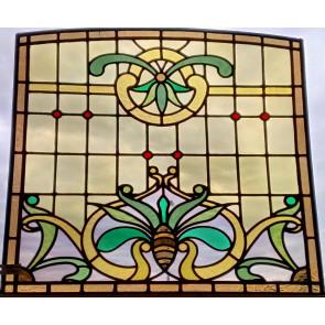 Oud raam 012 licht getoogd 70 x 70/72 cm.