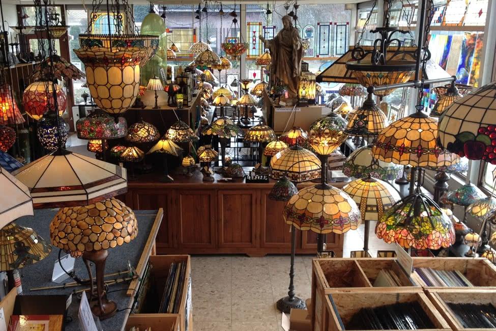 Tafellampen-winkel