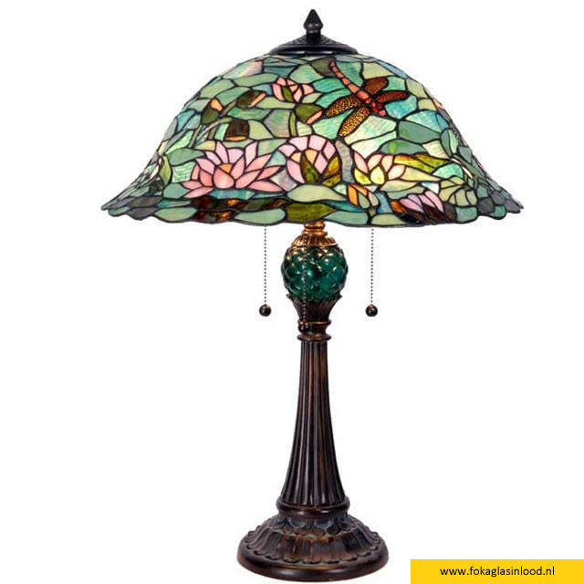 Tafellamp compleet Magic Lake 47cm