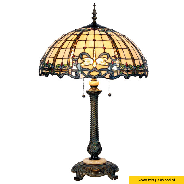 Tafellamp compleet Victorian Libelle Classic 50x80cm