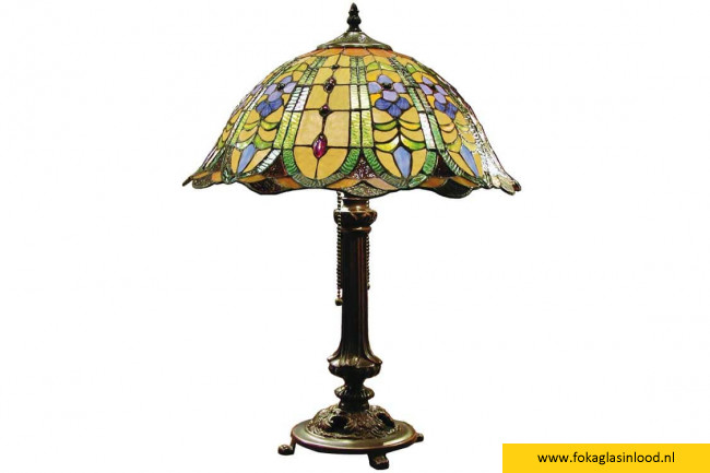 Tafellamp compleet Charming Classic Ø 40cm