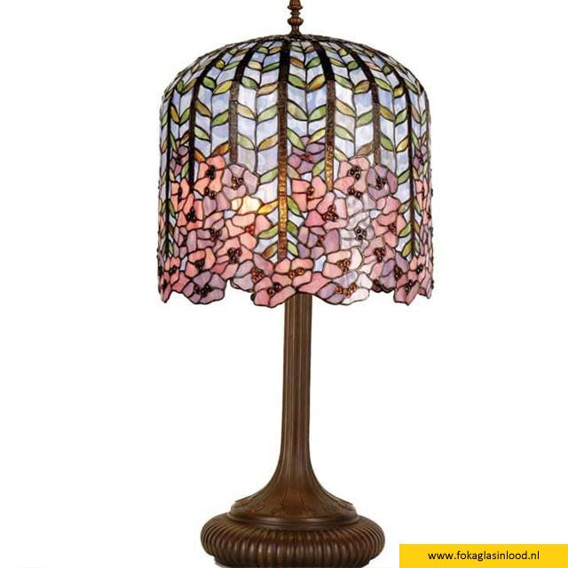 Tafellamp Flower bloemen