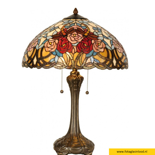 Tafellamp compleet Rozen