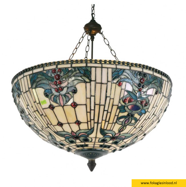 Plafondlamp 'mandje' Victorian Ocean 50cm
