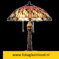 Tafellamp compleet Libelle Kleurrijk