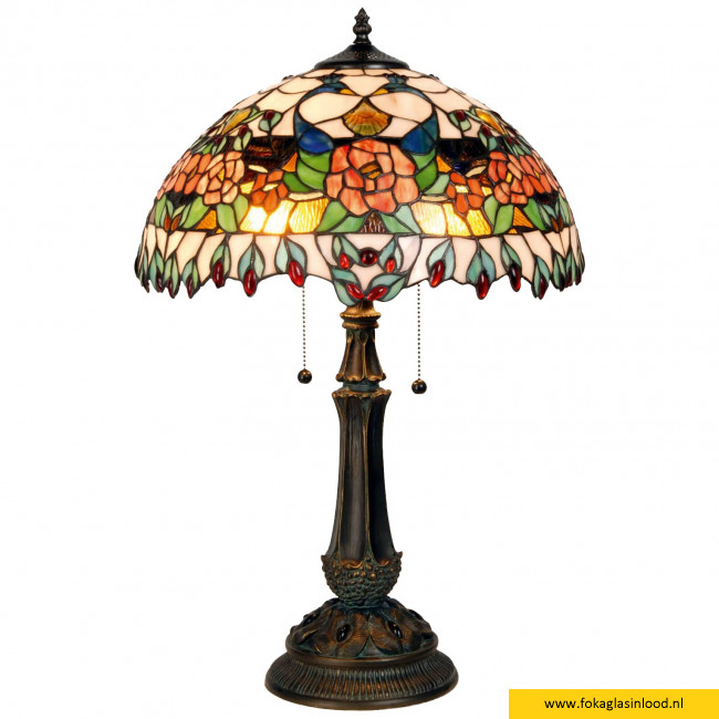 Tafellamp Ø 41cm Roze- Pauw