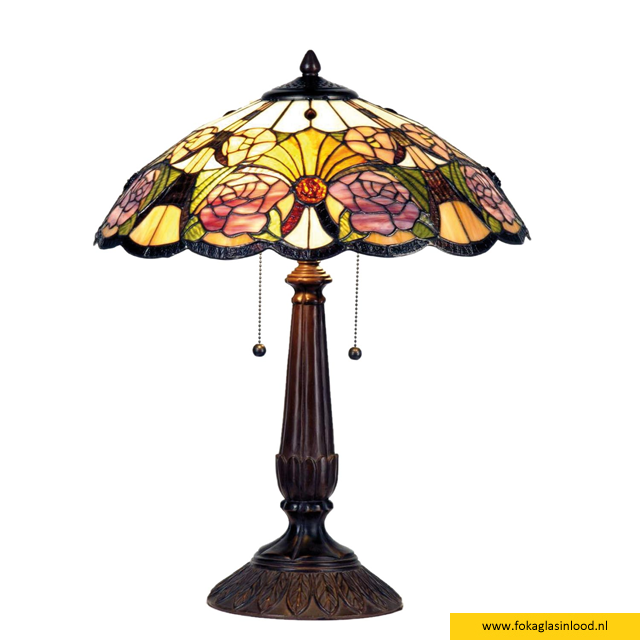 Tafellamp compleet klassiek 44cm