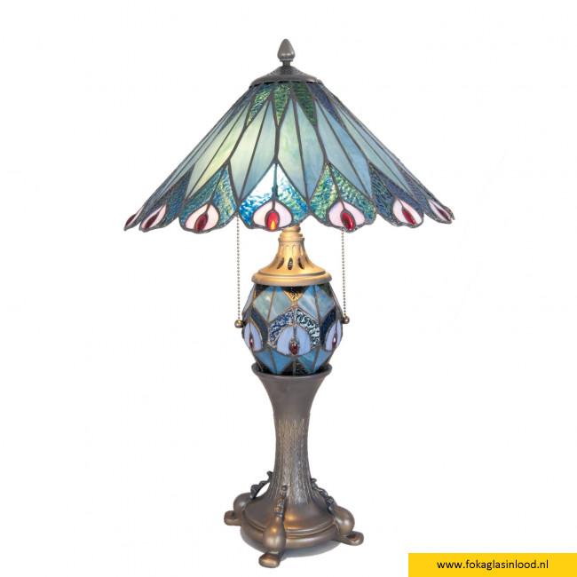 Tafellamp compleet Pauw compleet Ø 40cm