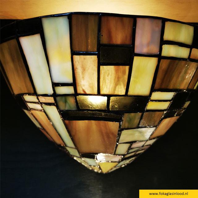 Wandlamp schelp Blok