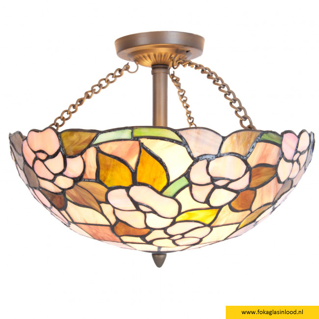 Plafondlamp Althea bloem 40cm