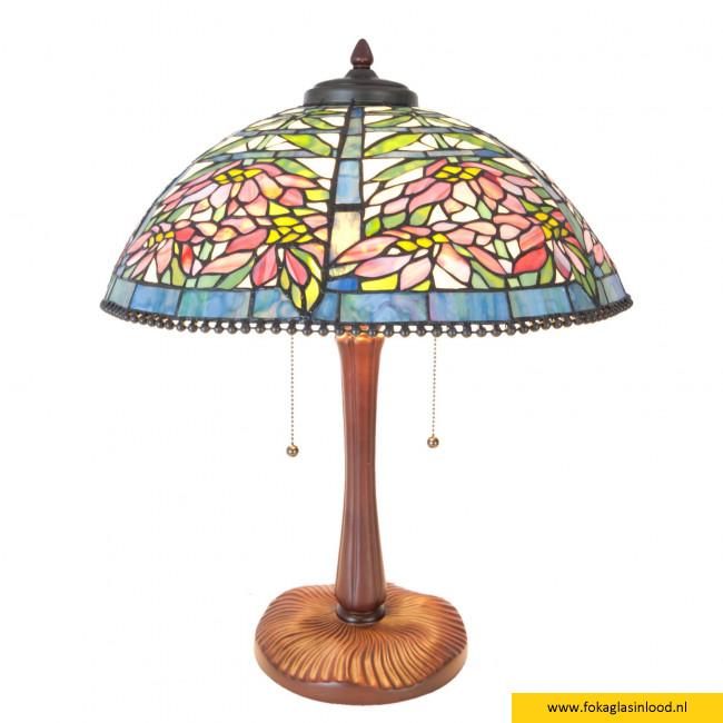 Tafellamp compleet Aster Flower Ø 47cm