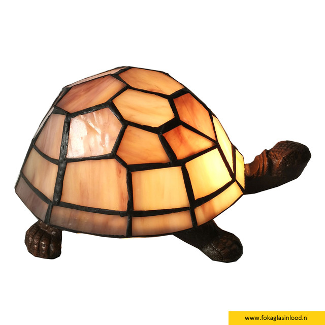 Decoratie 23x14cm schildpad