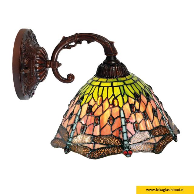 Wandlamp-leeslamp Libelle Nature