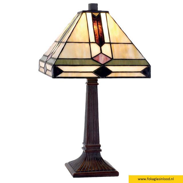 Tafellamp compleet klein Art Deco 30cm