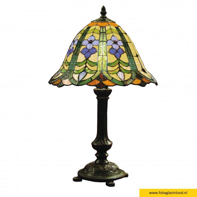 Tafellamp compleet van Tiffanyglas