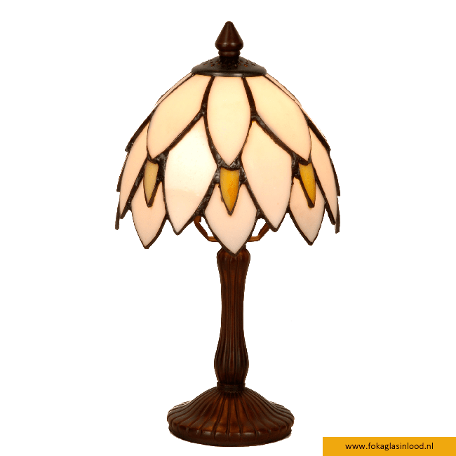 Tafellampje Kelk White