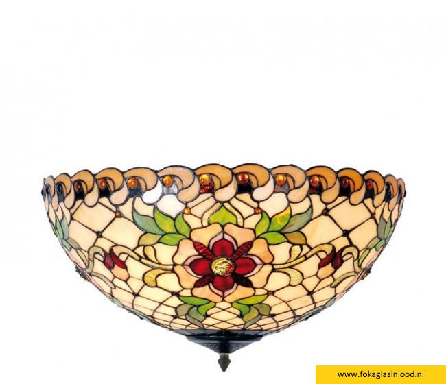 Plafondlamp Victorian Flower 50cm