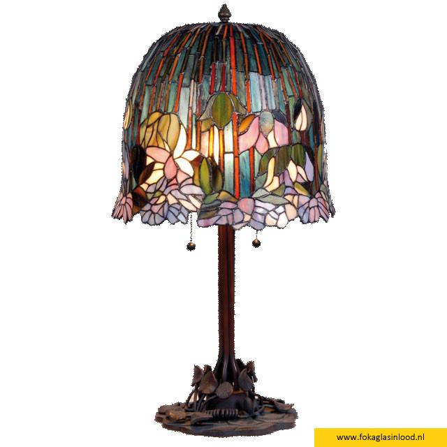 Tafellamp compleet Tropical 35cm