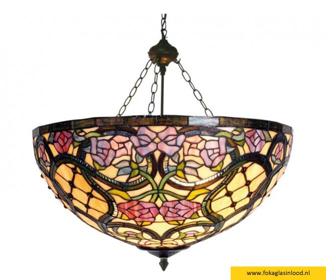 Plafondlamp 'mandje' Victorian Rose