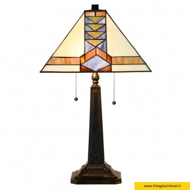 Tafellamp Pyramide 52cm