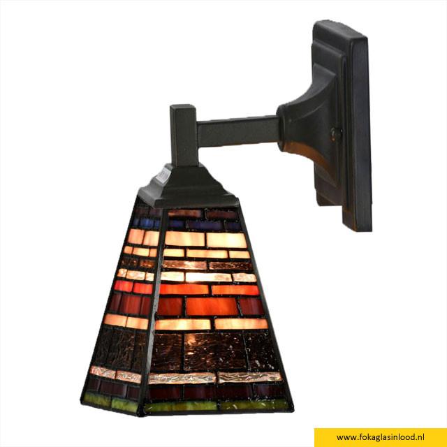 Wandlamp Industrial Quadrat