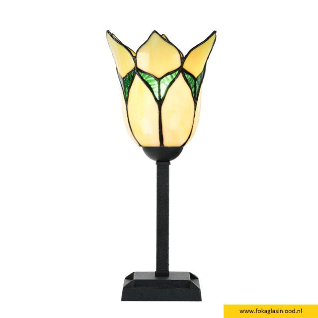 Tafellampje Lovely Flower Yellow